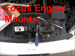 how to replace ford focus motor mounts