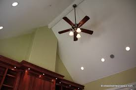 ceiling fans with lights for vaulted ceilings throughout led recessed iron blog remodel 19