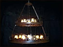 new 2 tier chandelier or western 2 tiered chandelier 11 2 tier round chandelier