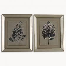 lexington set of 2 framed plant wall