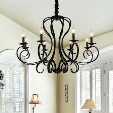 antique black chandelier 4 light
