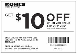 Downloadable Coupons Khols Retail Store Coupons Coupon Codes Blog