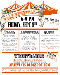 Fall Festival Flier Fall Festival Draper Campus 3