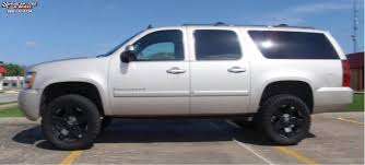 Chevrolet Suburban XD Series XD775 Rockstar Wheels Matte Black