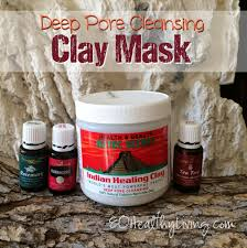 homemade deep pore cleansing clay mask