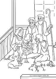 Kleurplaat Kerst Geboorte Geboorte Van Christus In Bethlehem