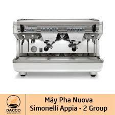Máy pha Nuova Simonelli Appia - 2 Group | Máy pha cà phê Nhập Khẩu.
