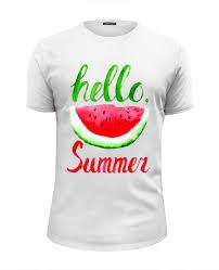 Футболка Wearcraft Premium Slim Fit <b>Hello summer</b> #2210786 от ...
