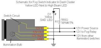 fog light indicator light in dash inst w pics toyota fj fog light indicator light in dash inst w pics toyota fj cruiser forum
