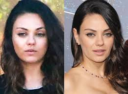 mila kunis from stars without makeup