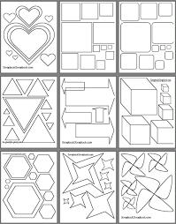 Free Printable Scrapbooking Templates Scrapbooking Pinterest