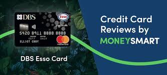 dbs esso card moneysmart review 2020