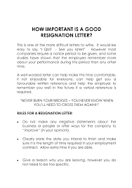 Ideas of How To Write A Resignation Letter Social Work About ...