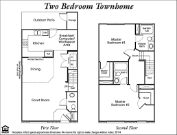 Townhomes Downtown Cleveland Ohio City Floor PlansTownhomes Floor Plans
