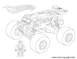 Monster Truck Coloring Pages Online Coloring Newest Games