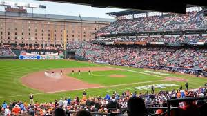 Oriole Park At Camden Yards Section 59 Row 8 Baltimore