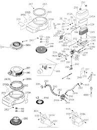 Tecumseh ohv155 204509e parts diagrams