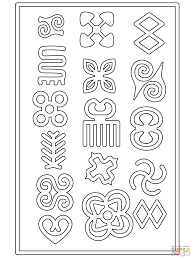 Adinkra Symbols coloring page   Free Printable Coloring Pages
