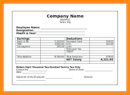 Check Stubs Template Free Amazing Earnings Statement Template Free Employee Earnings Statement