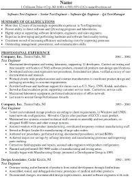 Software Test Engineer Sample Resume Sample Resume Software Developer Security Test Engineer Sample 1