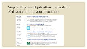 Job Searching In Malaysia Find Your Dream Job In Malaysia With