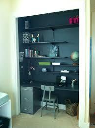 closet office desk. inspiration desk in closet office