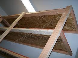 underside view of shelf