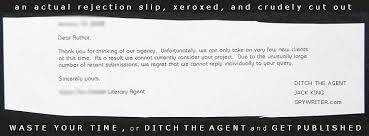 Rejection Letter Sample New Literary Rejection Letters From Publishers And Literary Agents