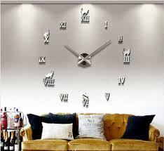Small Picture Buy Home decorationsbig digital wall clock Modern designlarge