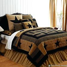 comforters red brown rustic western country star twin queen cal king quilt size comforter sets luxury