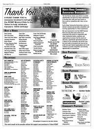 Yukon News, August 25, 2017 by Black Press Media Group - issuu