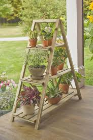 Plant Stand:Best Outdoor Plant Stands Ideas On Pinterest Diy Stand Ladder  Holder Fantastic Photos