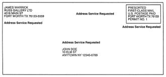 mailing letter format aocieimz