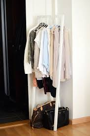 small clothes rack. Perfect Clothes Corner Stand Up Clothes Rack For Small Living Spaces Ook Een Goed Idee Als  Kapstok In Kleine Hal Throughout Small Clothes Rack