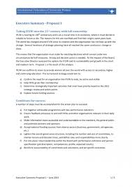 Executive Summary Sample For Proposal 010 Executive Summary Sample For Proposal Unique Phd