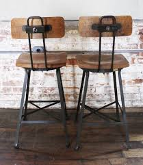 wooden seat bar stools. Metal Bar Stools With Wood Seat Wooden