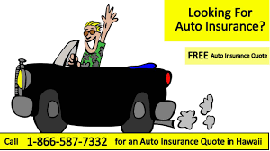 Free Auto Insurance Quotes Stunning FREE Auto Insurance Quote Honolulu Hawaii Car Call 48484848
