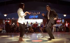the pulp fiction dance scene set to shake it off is literally  the pulp fiction dance scene set to shake it off is literally why the internet exists video