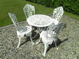 white cast iron patio furniture. Simple Cast Remarkable White Iron Patio Furniture With Regard To Cast Garden For E