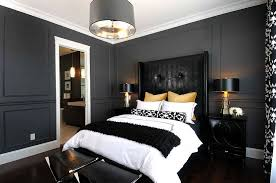black white style modern bedroom silver. Black Gold Decorating Ideas And Room Decor Good Living Wall White Style Modern Bedroom Silver