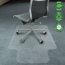 chair mat for carpet. amazon.com: office marshal chair mat for carpet with lip | eco-friendly series floor protector 100% recycled (pet) or home use r