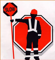 Image result for flagger cartoon