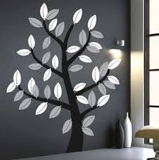Small Picture Leafy Tree Wall Art Design Trendy Wall Designs
