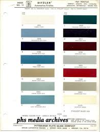 1965 Pontiac Color Chart Phscollectorcarworld Pontiac Special Order Paint Codes 1966 67
