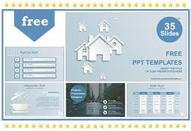 Powerpoint Real Estate Templates Real Estate House Ions Template 35 Sildes Powerpont