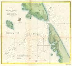 Oregon Inlet N Carolina Geographicus Rare Antique Maps