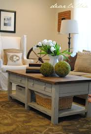 dear lillie coffee table step by step
