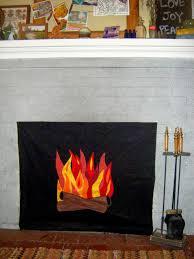 faux fire fireplace insert