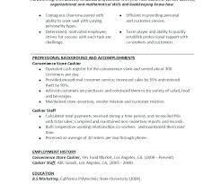 Resume For Fast Food Cashier Fast Food Cashier Resume New Fast Food Resume Skills Fast Food