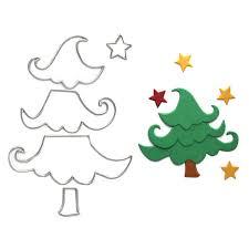 Phone Tree Template Best Christmas Tree Template DIY Metal Cutting Dies Scrapbooking Album